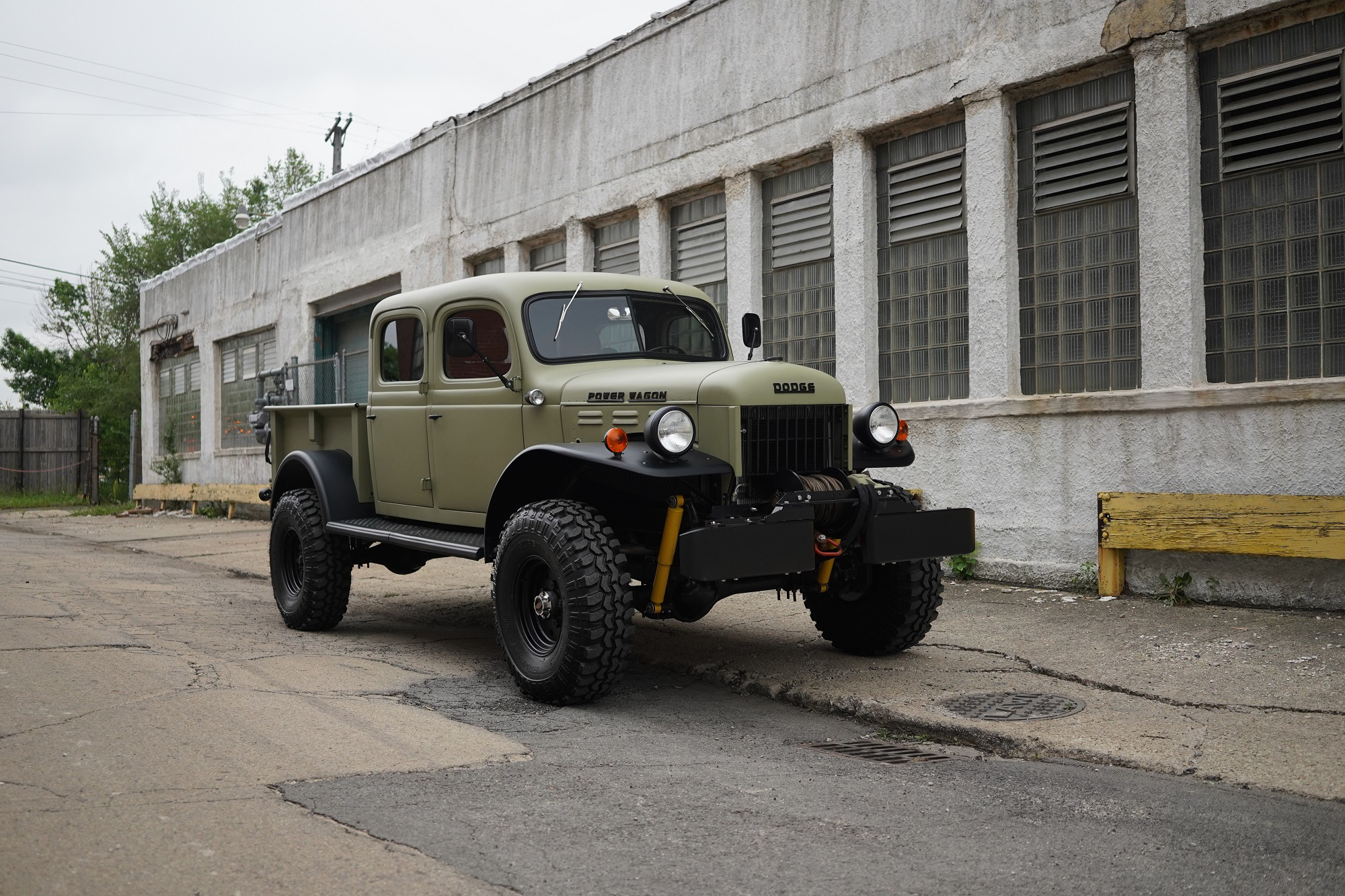 1949 Dodge Power Wagon 4 Door Conversion By Legacy Classic Trucks Sold Mouse Motors